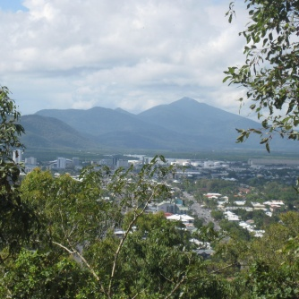 The view from Mt Whitfield