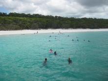 Swimming to Whitehaven
