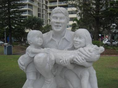 Steve Irwin statues
