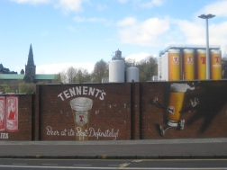 Tennents street art