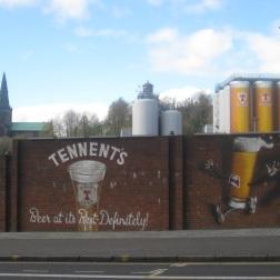 Tennents street art