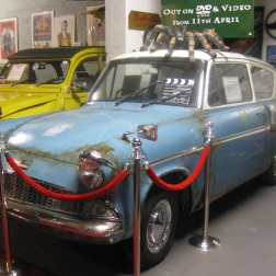 Harry Potter cars at Bo'Ness museum