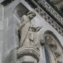 Statues at Rosslyn Chapel