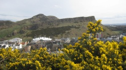 Arthur's Seat and Dynamic Earth from Calton Hill