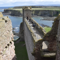 Tantallon Castle Battlements
