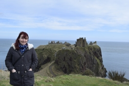 Me at Dunnottar