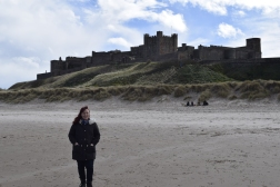 Me at Bamburgh Castle