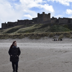 Me at Bamburgh Castle