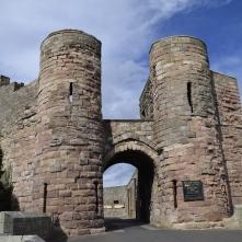 Entrance to Bamburgh Castle