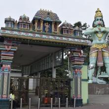 Hanuman the green Monkey God