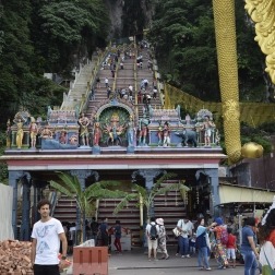 Stairs to Batu Caves