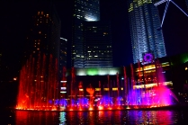 Petronas Light show