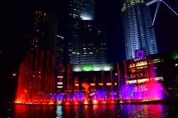 Petronas Light show