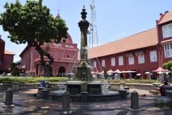 Melaka's fountain