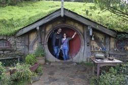Us at Hobbiton