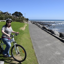 The day we cycled New Plymouth's waterfront