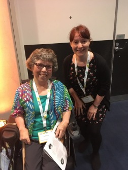 Meeting Trish Harris a few months after I read her book - The Walking Stick Tree