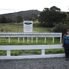 NZ's longest place name - it was quite a journey the day we did this! Memorable! Note: there are no fuel stops on this road from driving south from Hawkes Bay!