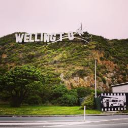 The windy Wellington sign